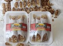 Hindistan Cevizi kaplı Cevizli  Lokum Sucuğu 500 gr